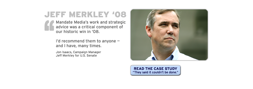 Jeff Merkley for Senate 2008