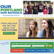 Our Portland, Our Schools