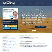 Gavin Newsom, Lt. Governor (California)